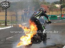 2º Encontro Nacional de Motociclistas - final do evento